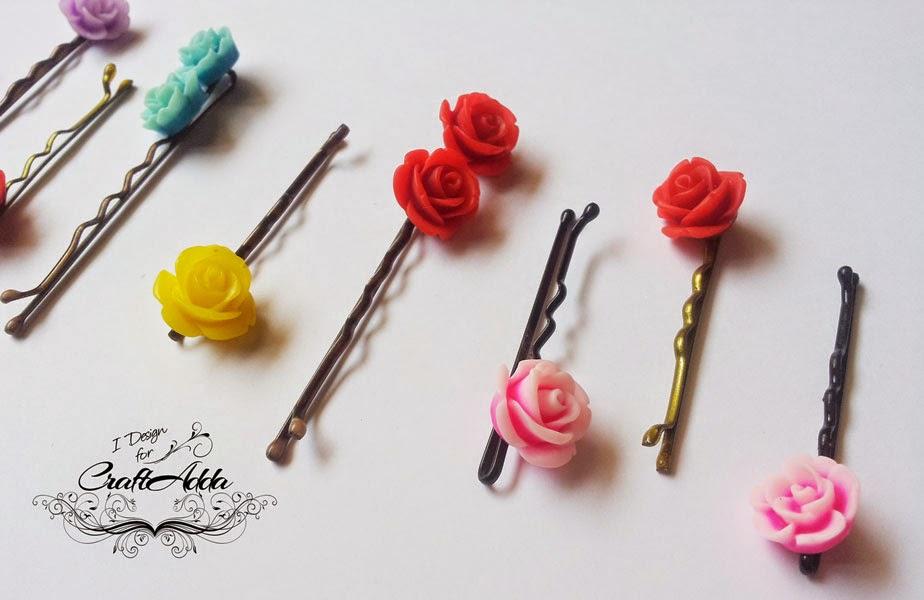DIY hair clips 6