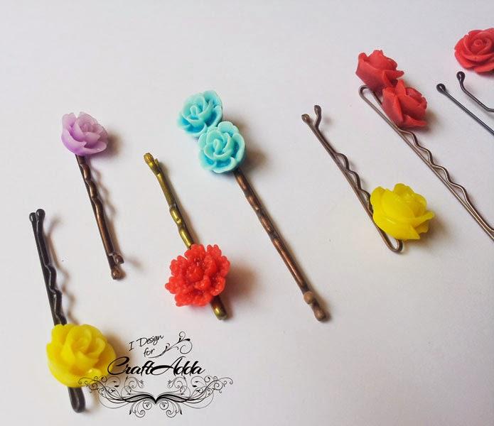 DIY hair clips 3