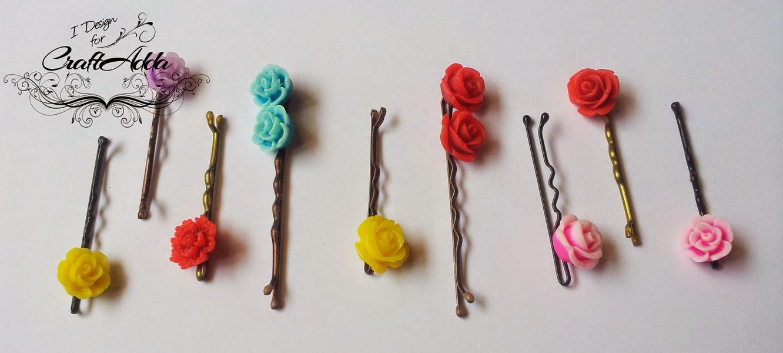 DIY hair clips 5