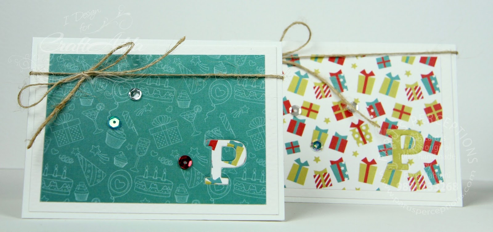 Monogrammed note cards 1