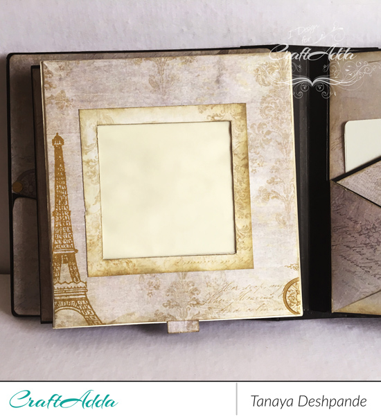 Mini album made by using vintage grunge paper by CrafTangles [Guest DT Post] 4