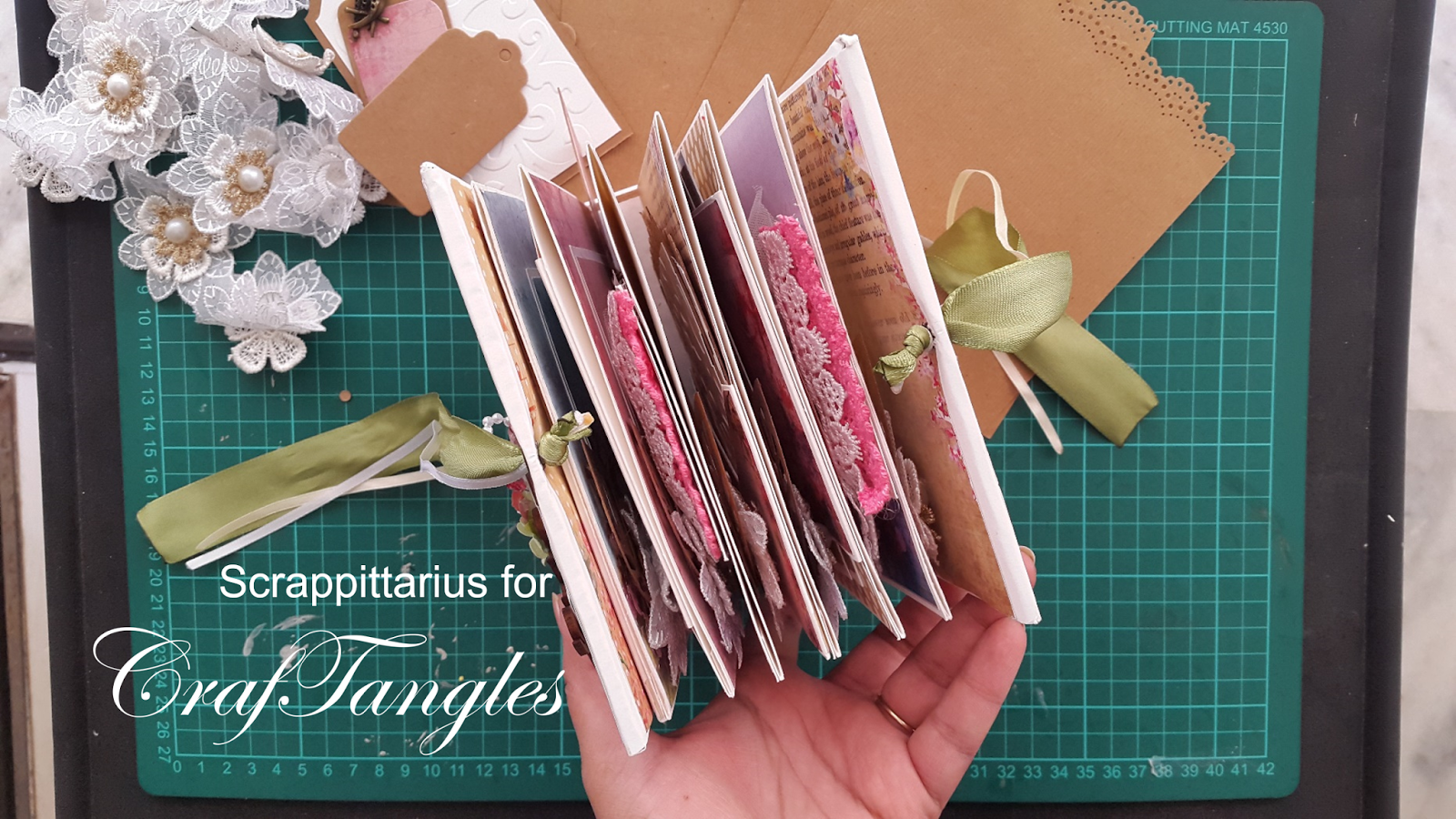 """""""Forever and always"""" pocket page mini album by Suchismita Chatterjee Dutta [Guest Post with Tutorial] 4"""
