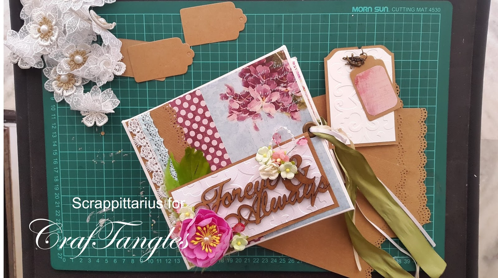 """""""Forever and always"""" pocket page mini album by Suchismita Chatterjee Dutta [Guest Post with Tutorial] 14"""