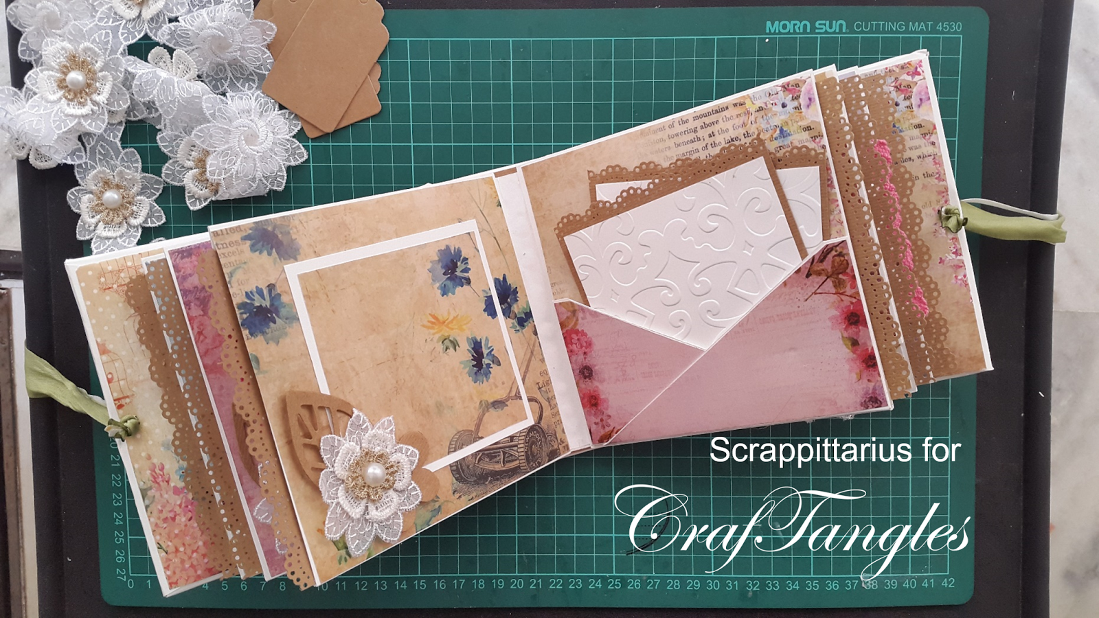 """""""Forever and always"""" pocket page mini album by Suchismita Chatterjee Dutta [Guest Post with Tutorial] 9"""