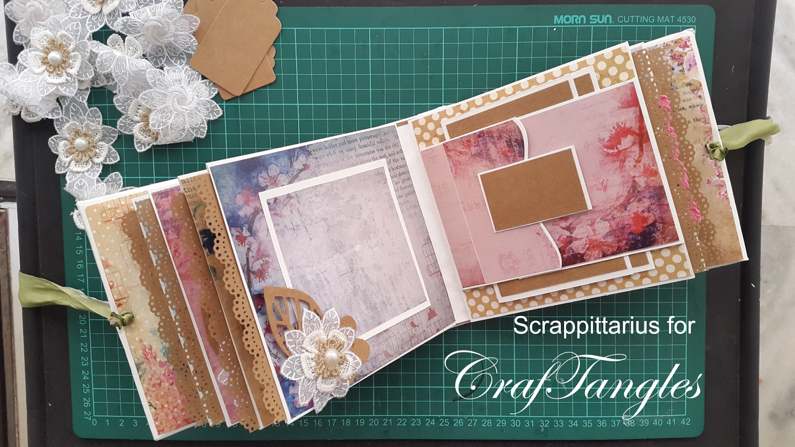 """""""Forever and always"""" pocket page mini album by Suchismita Chatterjee Dutta [Guest Post with Tutorial] 10"""