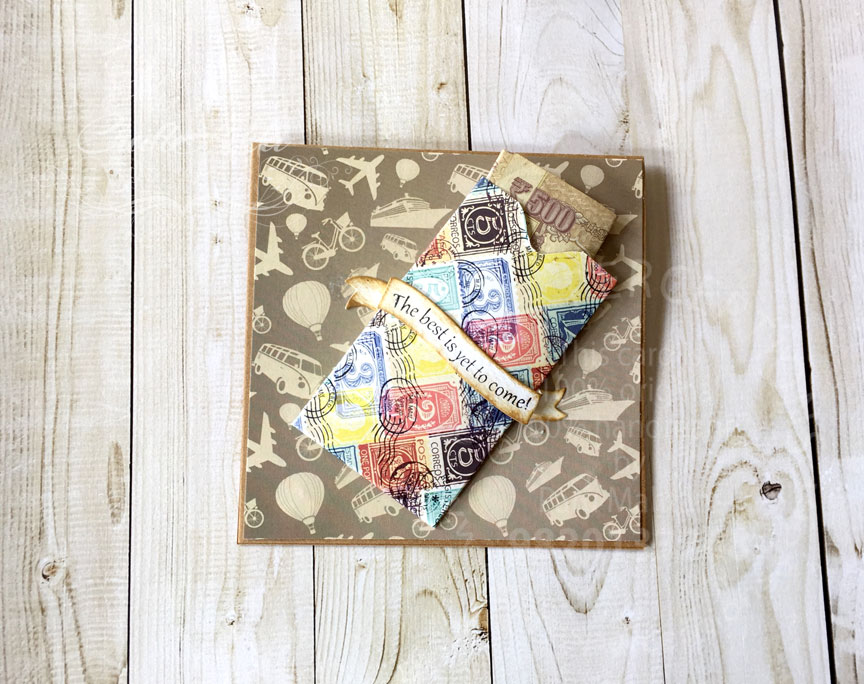 Cash and gift card holders using Craftangles 6