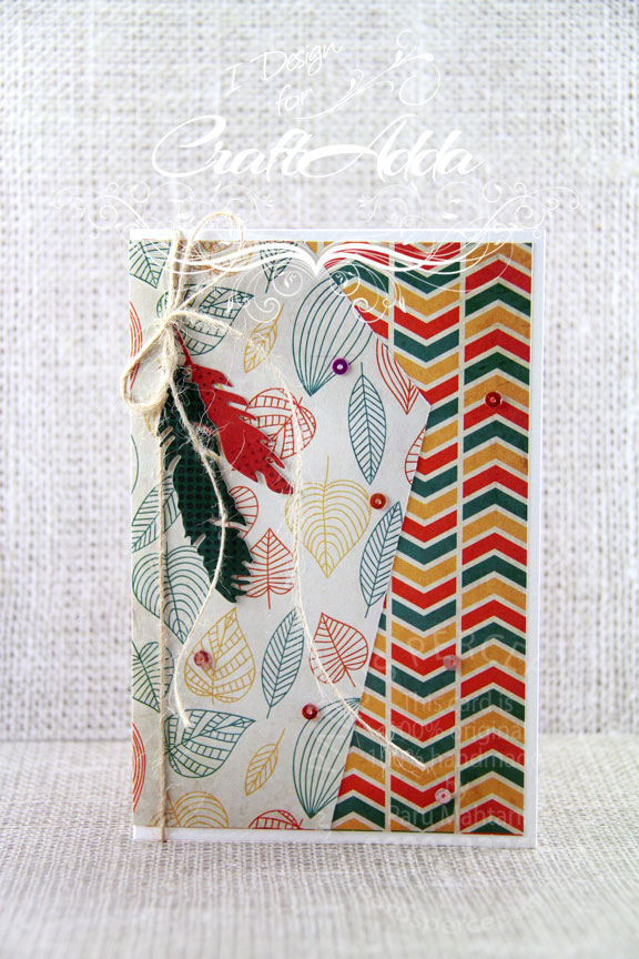Autumn Harvest Patterned Papers 1