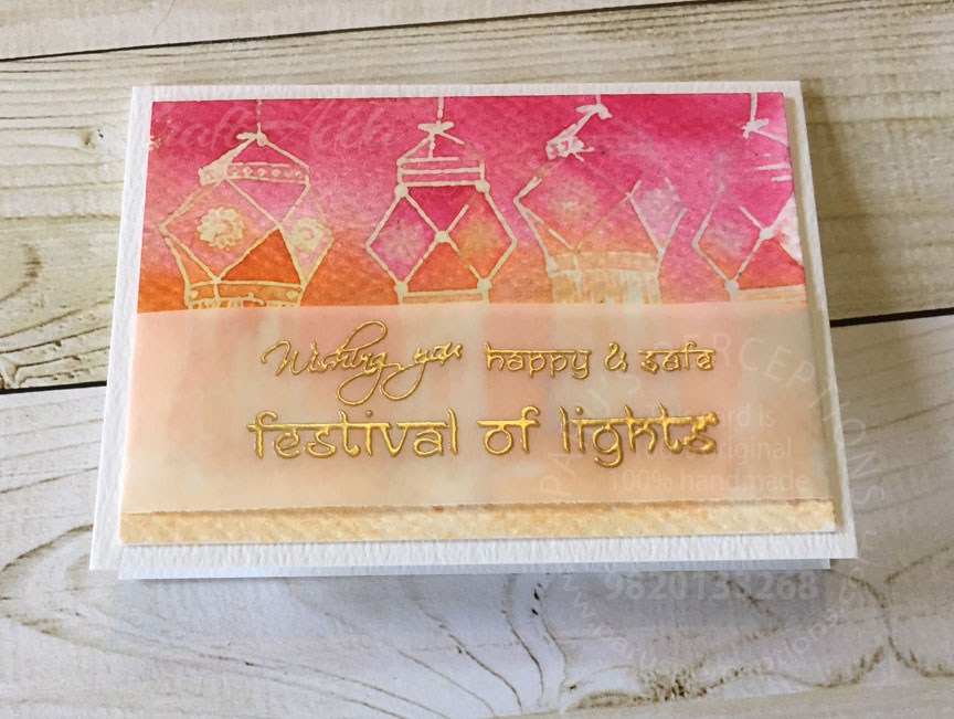 Diwali note cards 7