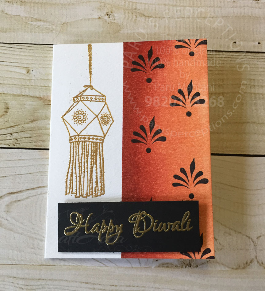 Diwali note cards 4