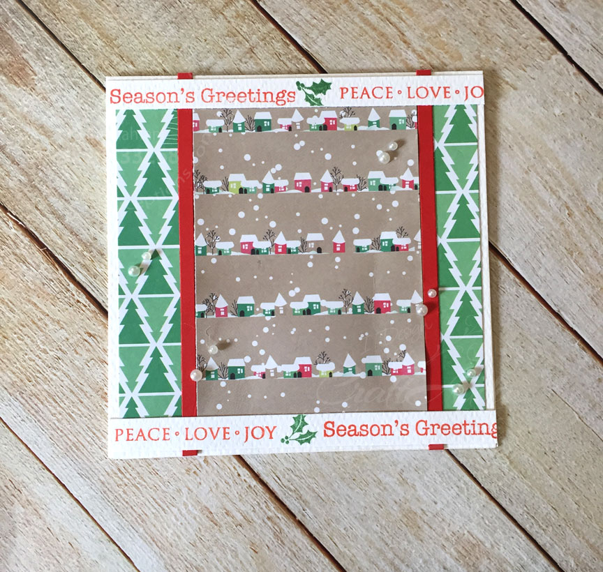 Quick and Easy Christmas cards..part 2 1
