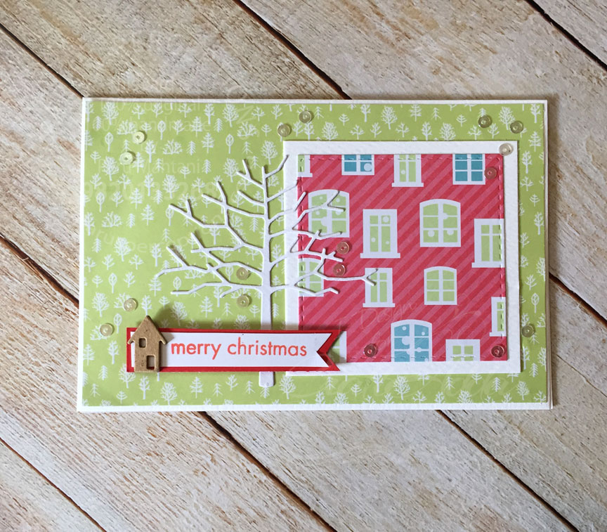 Quick and Easy Christmas cards 1