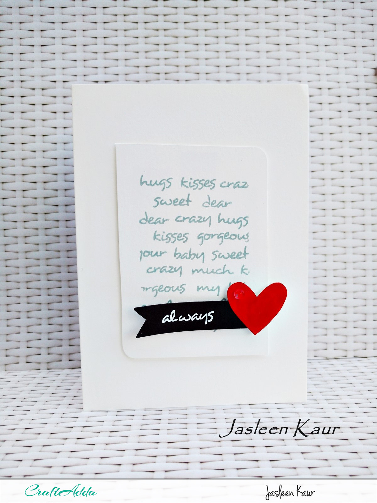 Love themed cards for valentines day by Jasleen Kaur 4