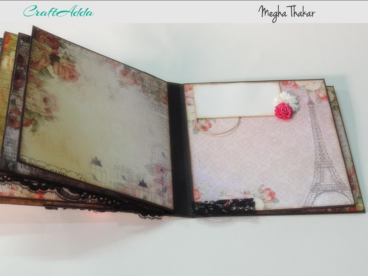 Enchanted Blooms Mini Album 7