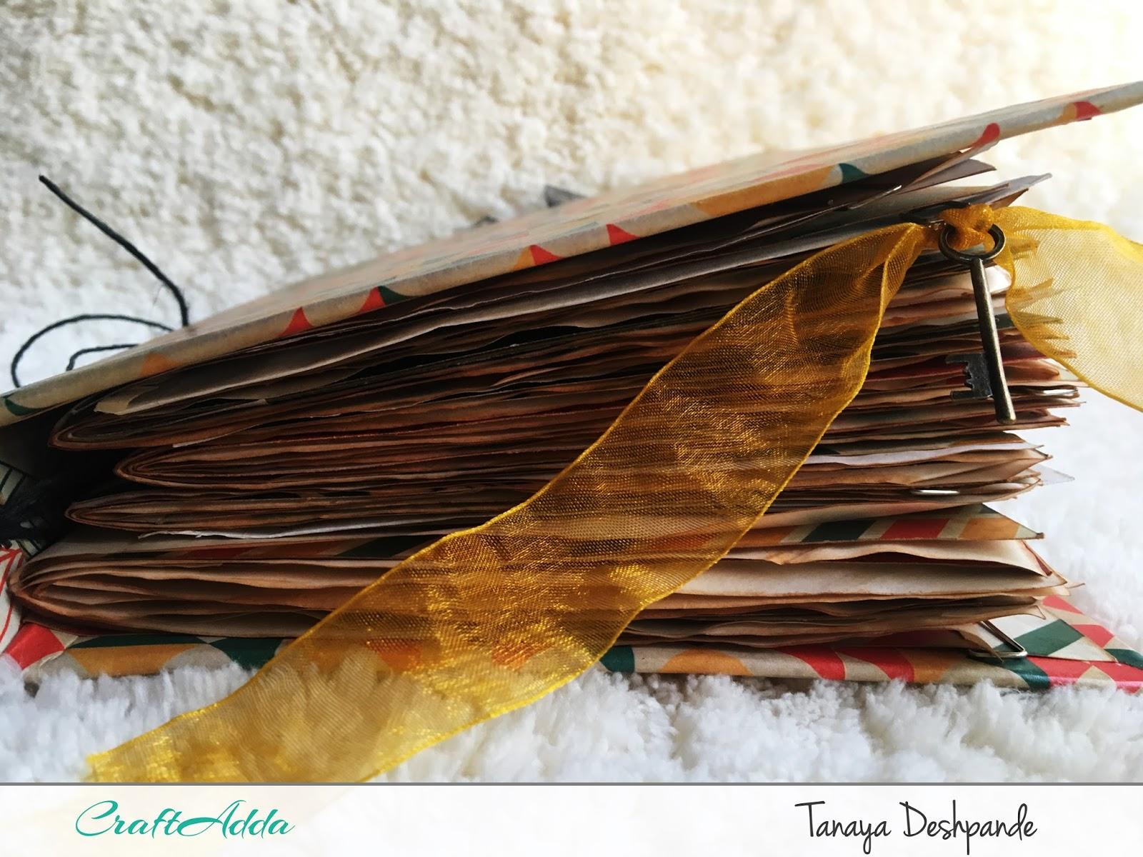 'Autumn Harvest' Junk Journal by Tanaya 2