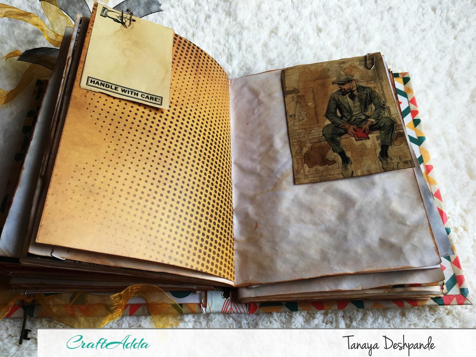 'Autumn Harvest' Junk Journal by Tanaya 5