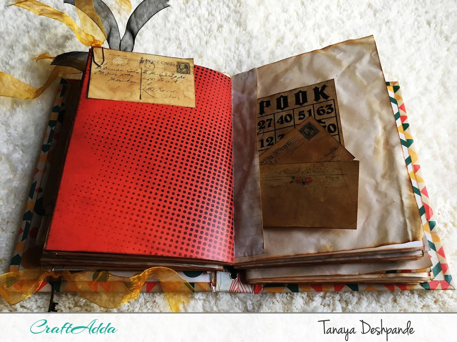 'Autumn Harvest' Junk Journal by Tanaya 6