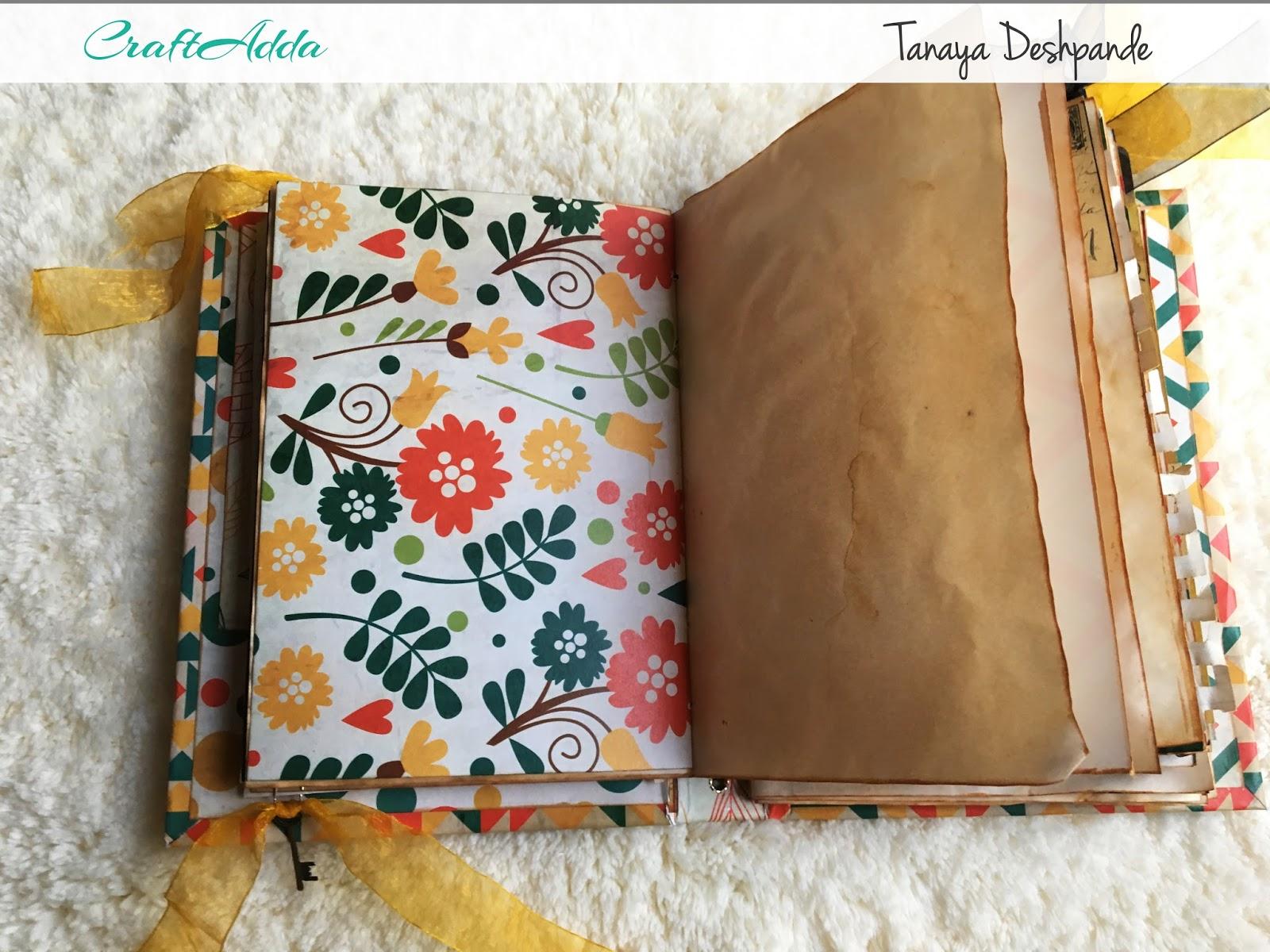 'Autumn Harvest' Junk Journal by Tanaya 8