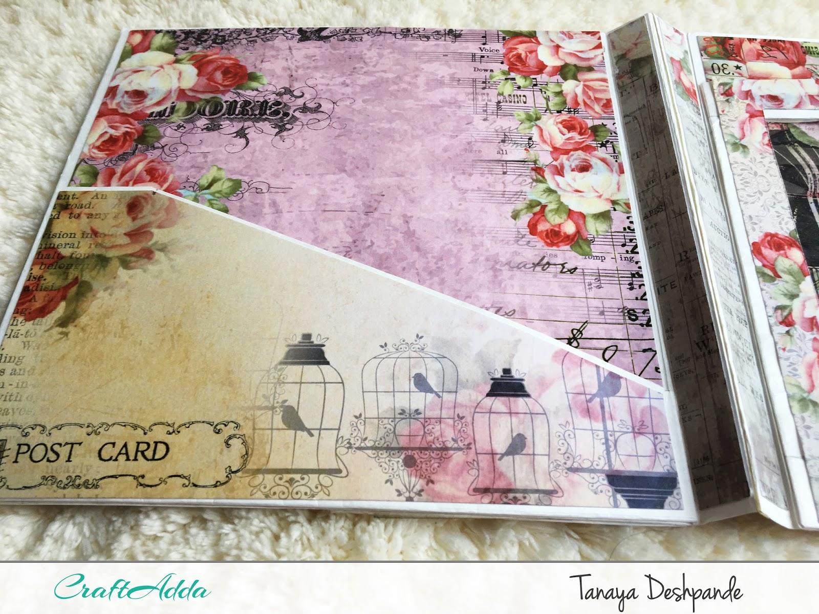 Enchanted Blooms   Photo Folder by Craftowlz 4