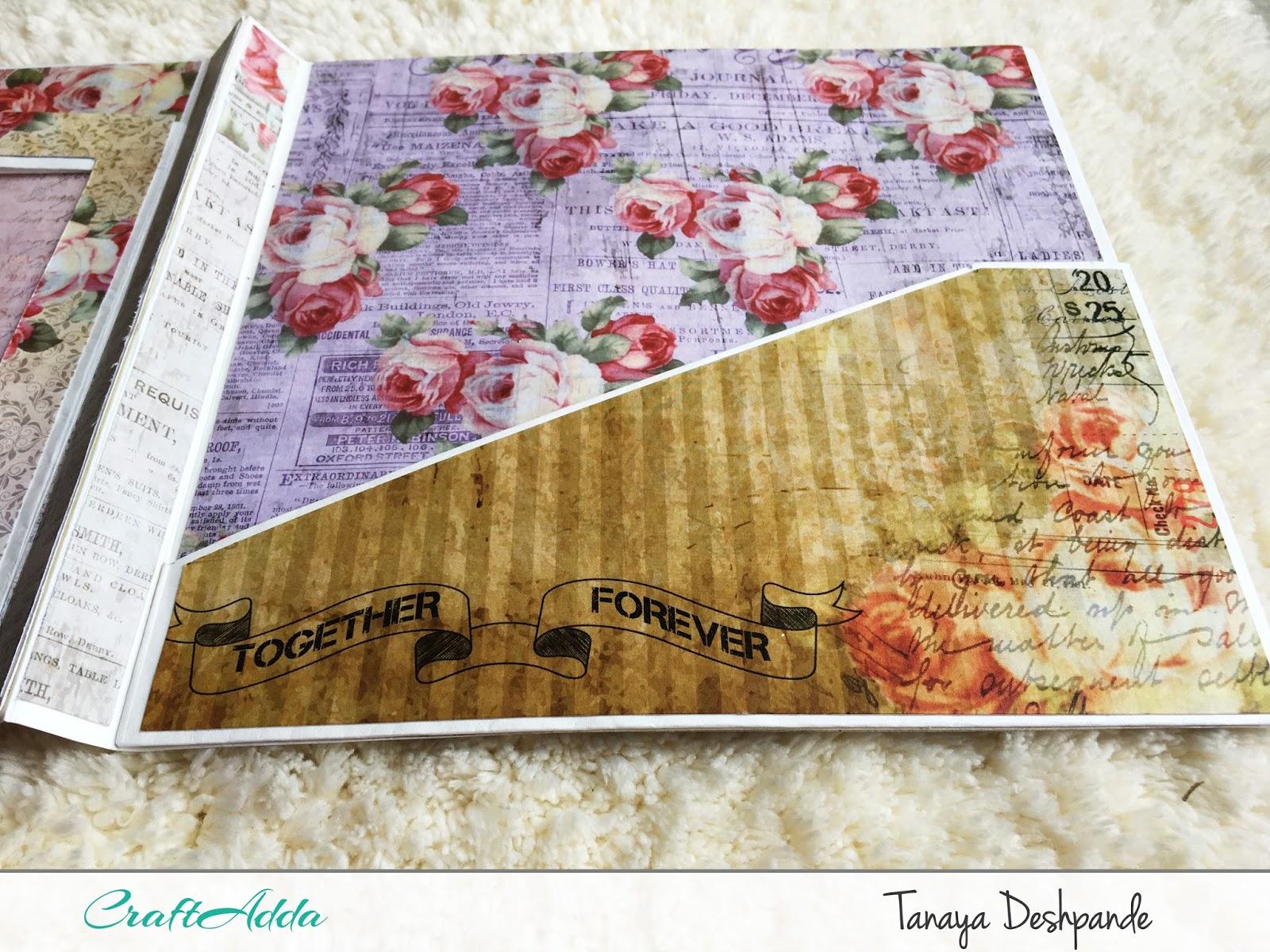 Enchanted Blooms   Photo Folder by Craftowlz 5