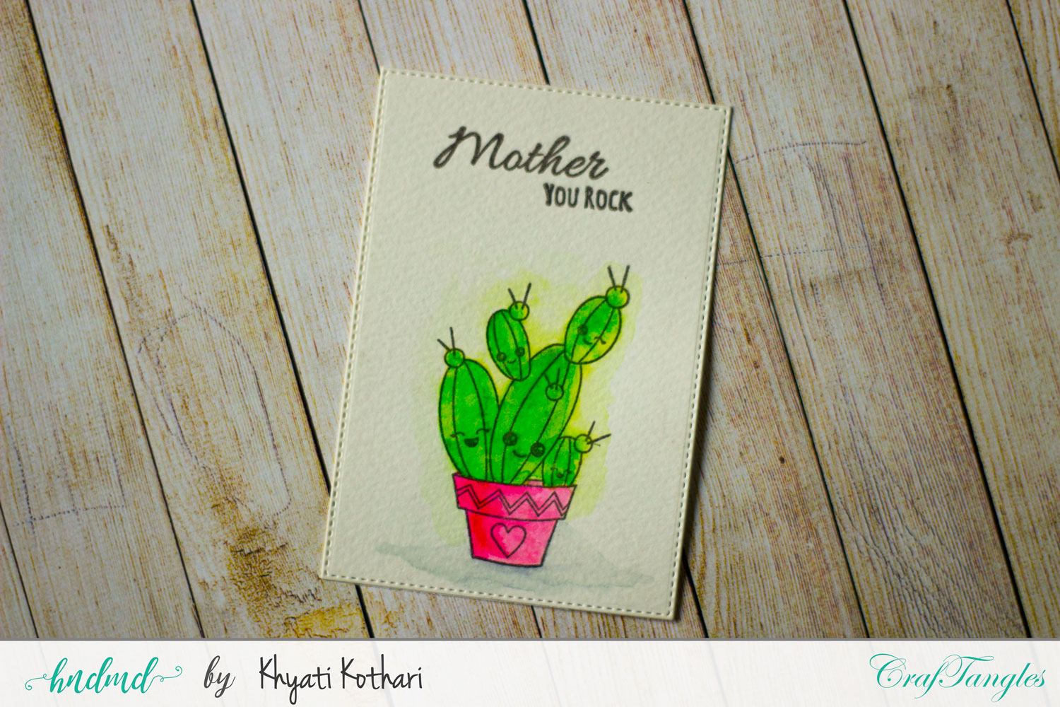 Mothers day Inspiration using CrafTangles Products 5