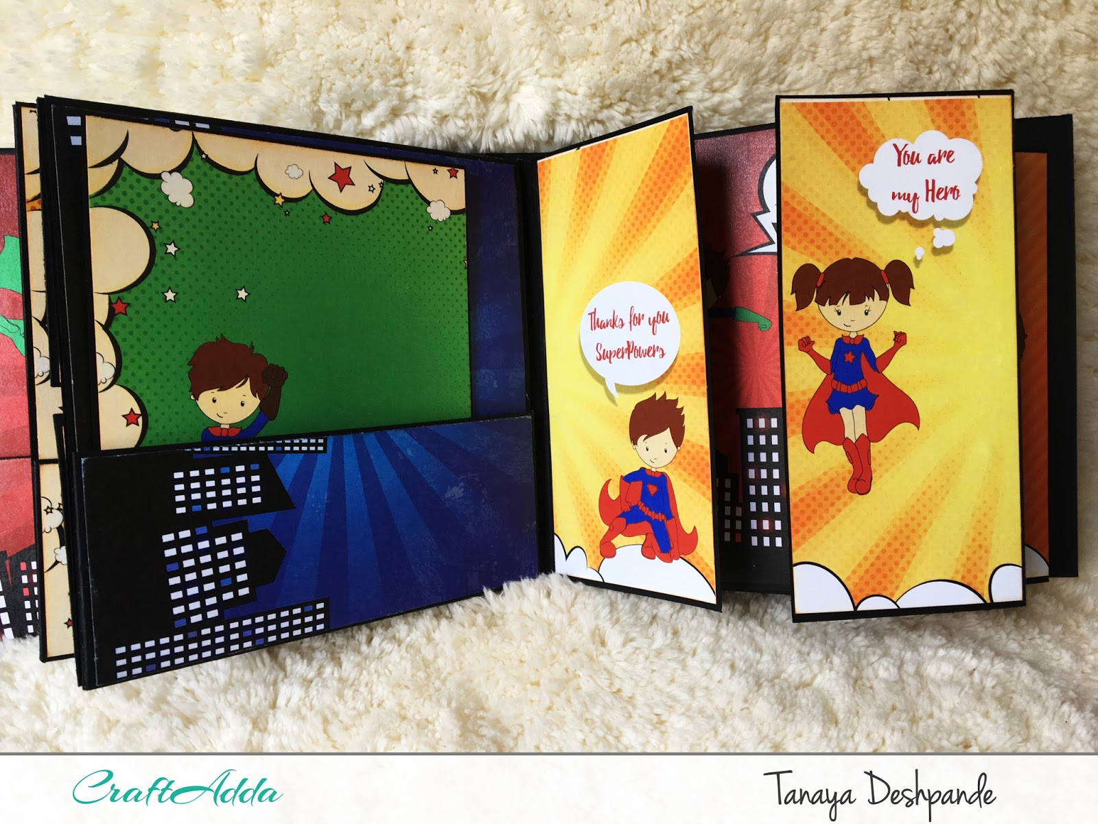 SuperKids Mini album by Craftowlz 3