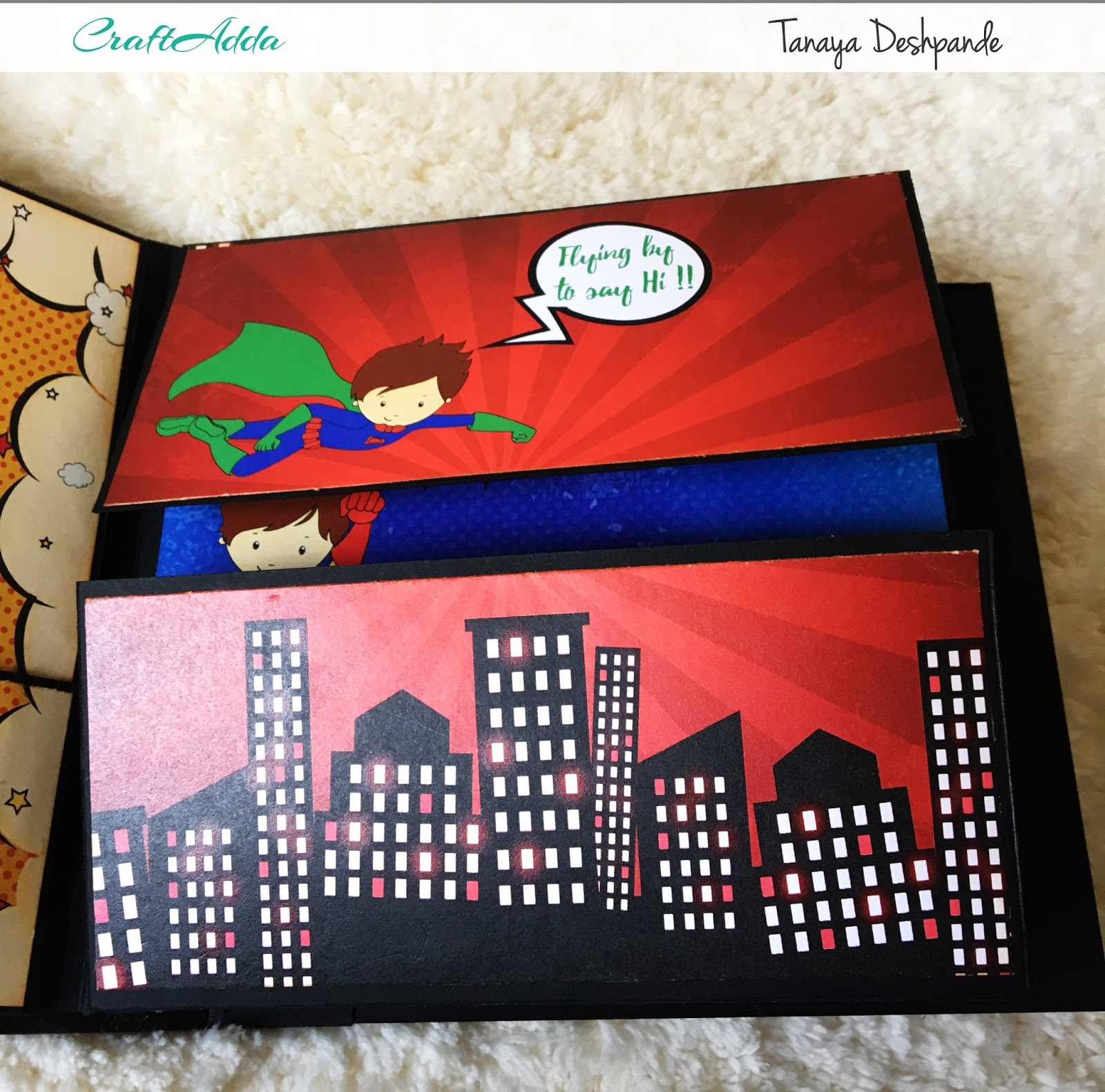 SuperKids Mini album by Craftowlz 6