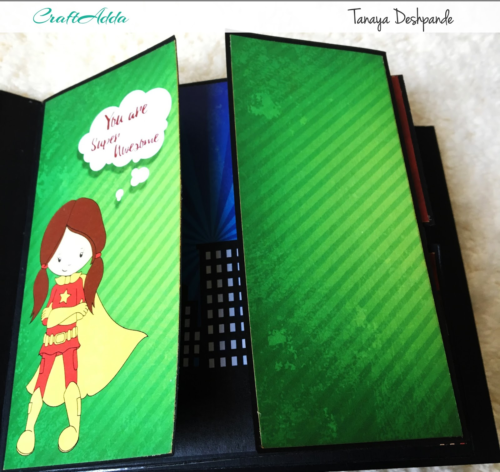 SuperKids Mini album by Craftowlz 7