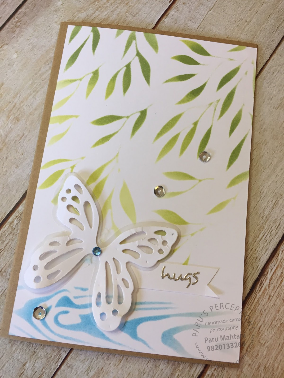 New release..Dangling leaves  and Ripples stencil 1