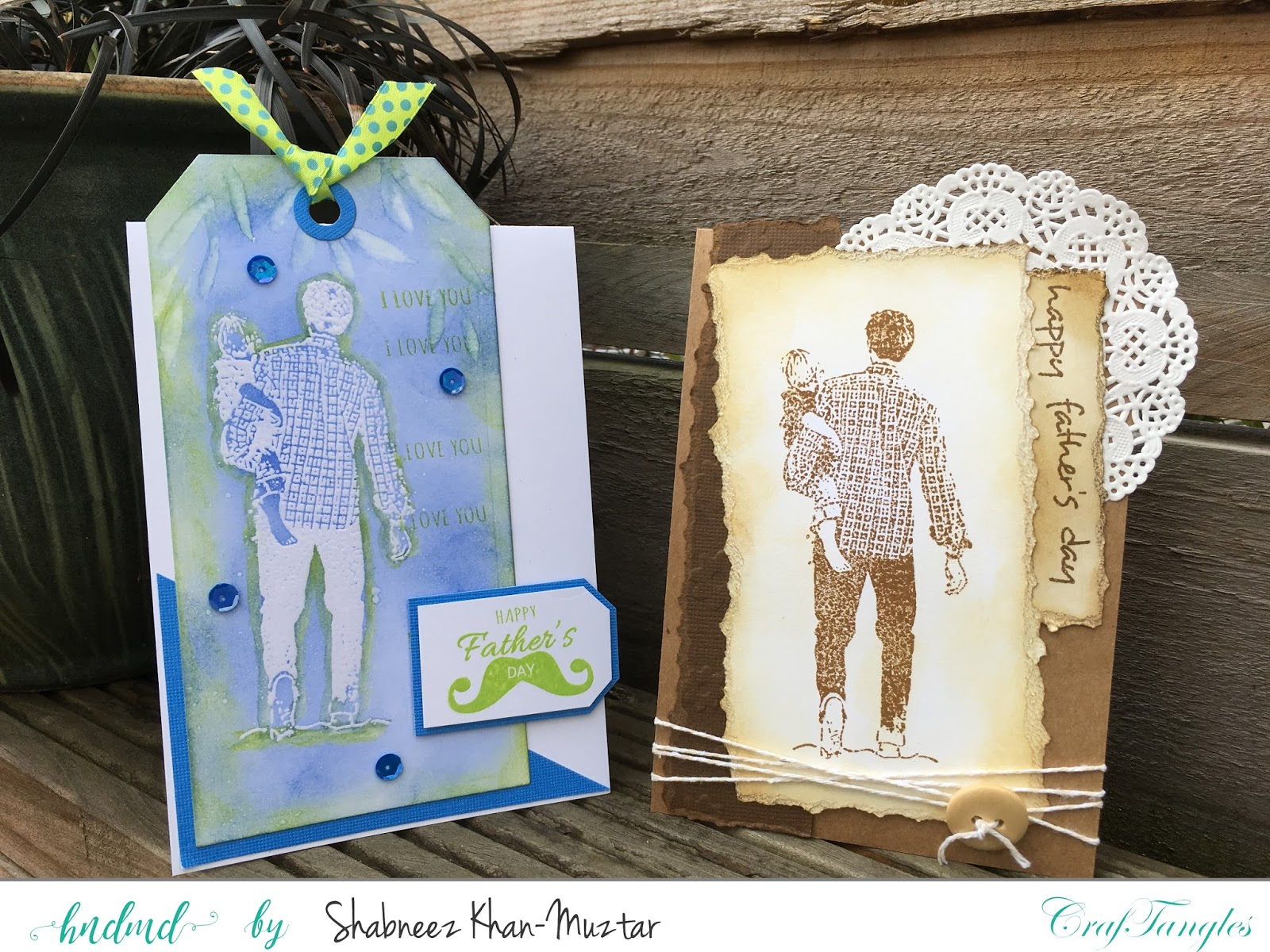 Celebrating Father's Day with CrafTangles 1