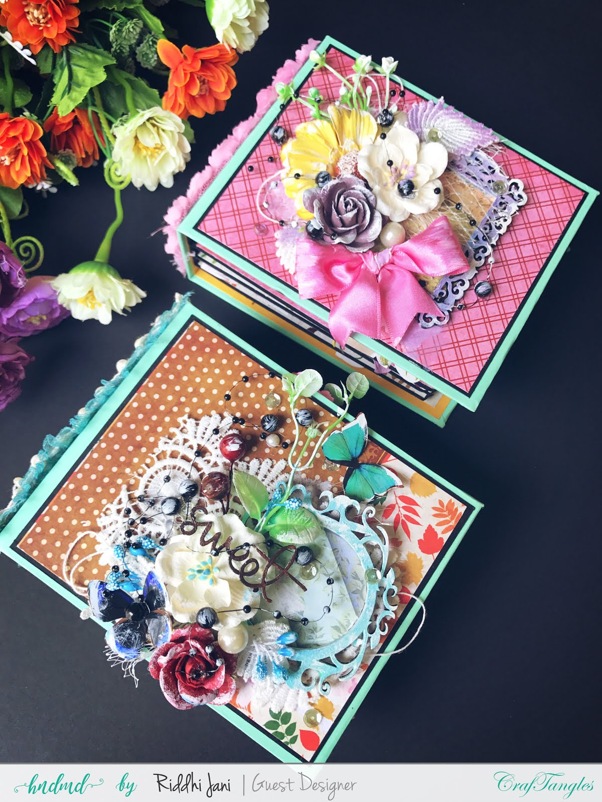 Mini albums dedicated to mom by Riddhi Jani [Guest Post] 2