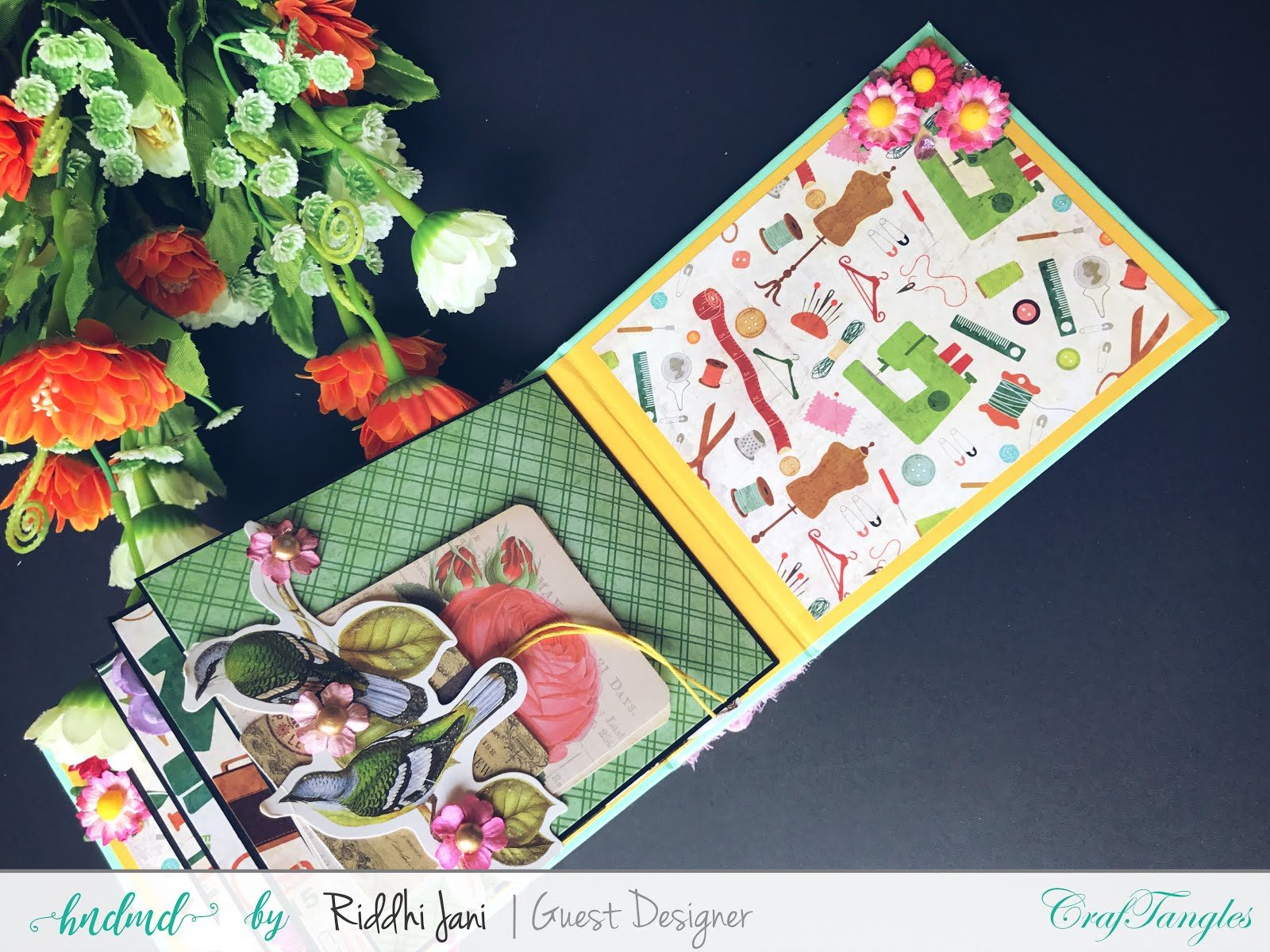 Mini albums dedicated to mom by Riddhi Jani [Guest Post] 5