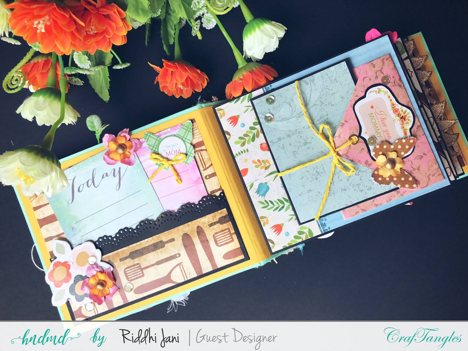 Mini albums dedicated to mom by Riddhi Jani [Guest Post] 7