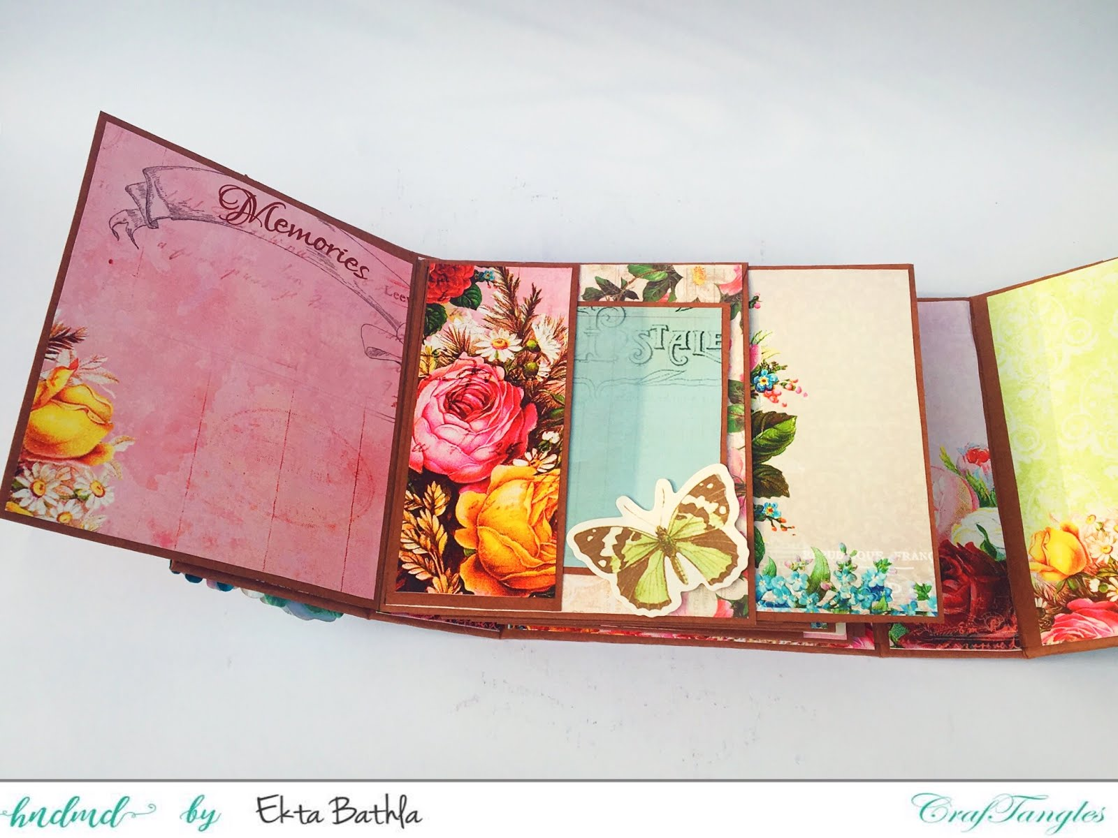 Photo house box with a drawer and an album 7