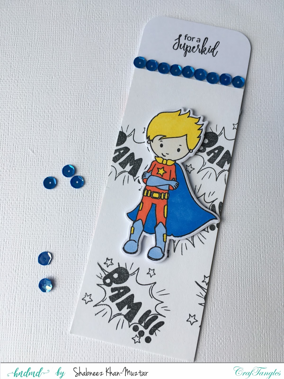 Super Boy Card And Gift In One 1
