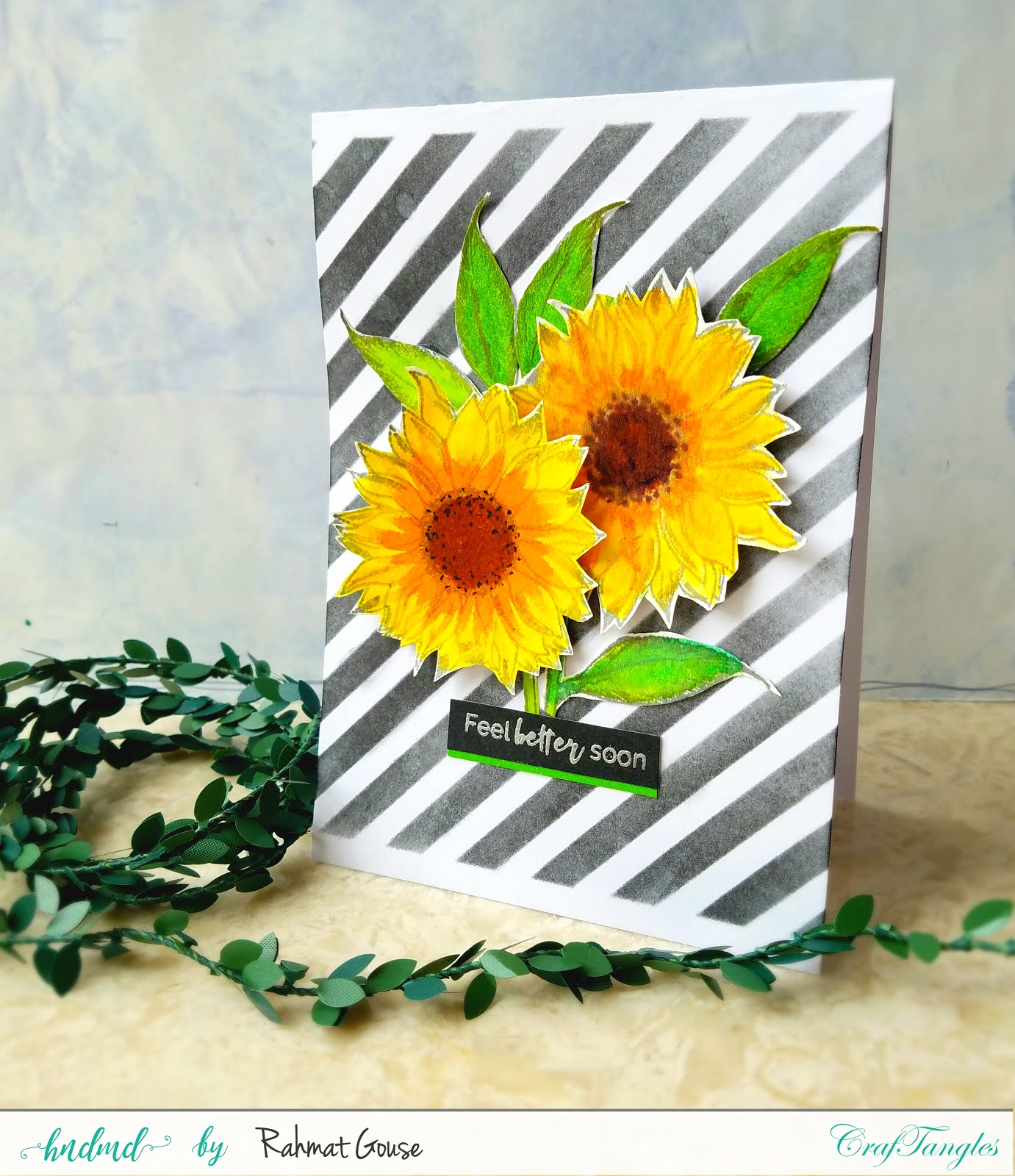 A shaker, A pop up, and a striped card 4