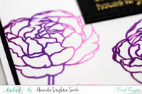 Ombre Peonies in Shades of Purple 5