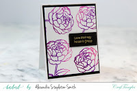 Ombre Peonies in Shades of Purple 4