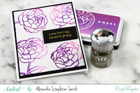 Ombre Peonies in Shades of Purple 6