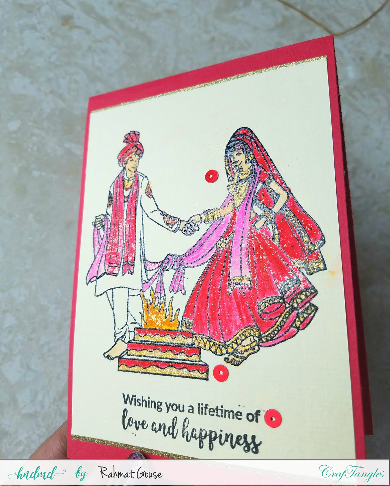 Indian Wedding themes cards 4
