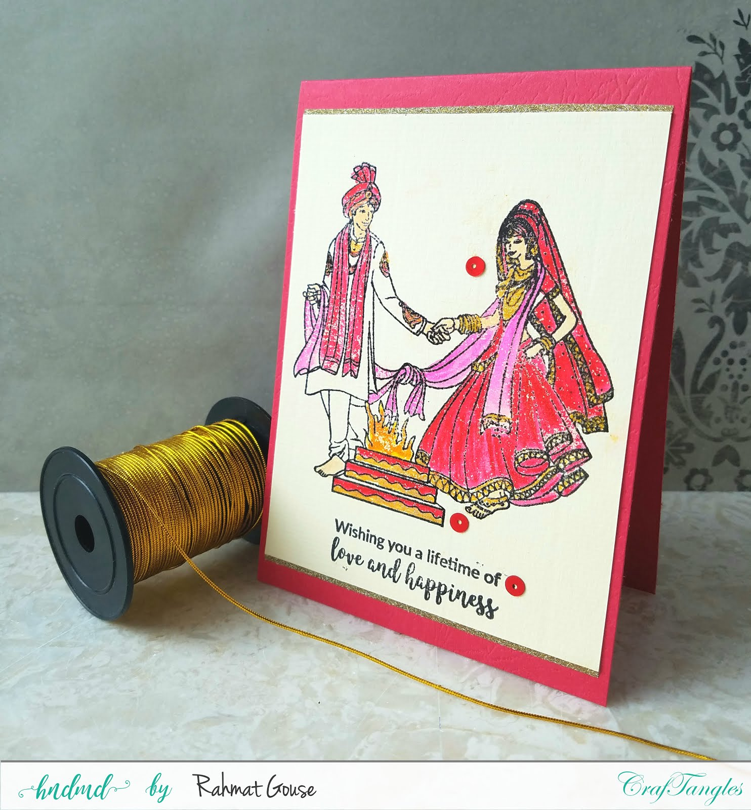 Indian Wedding themes cards 3