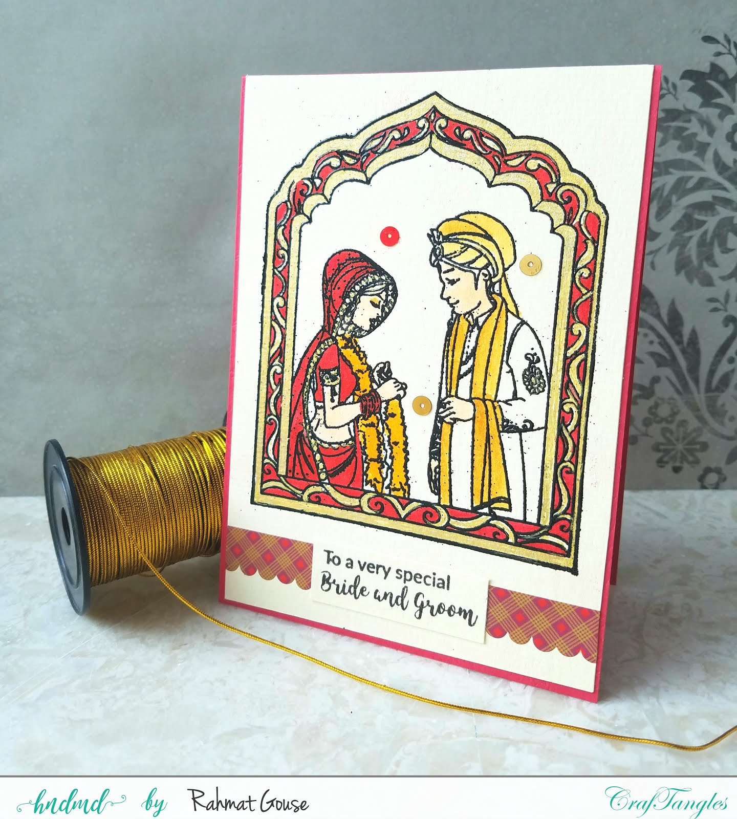 Indian Wedding themes cards 1