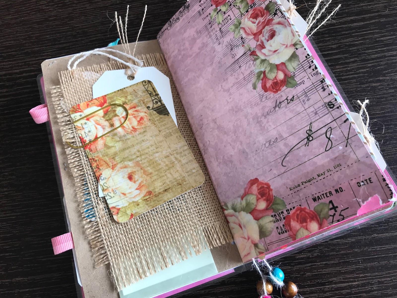 DIY Traveler's notebook signature mini album 6