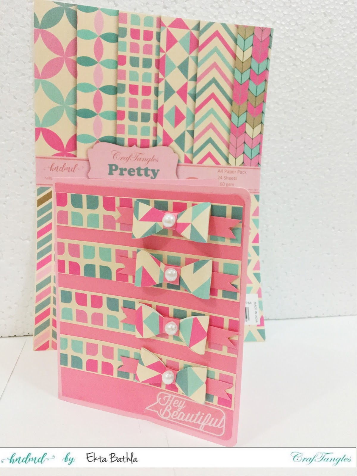 Few cards using Pretty Pastel Paper 6