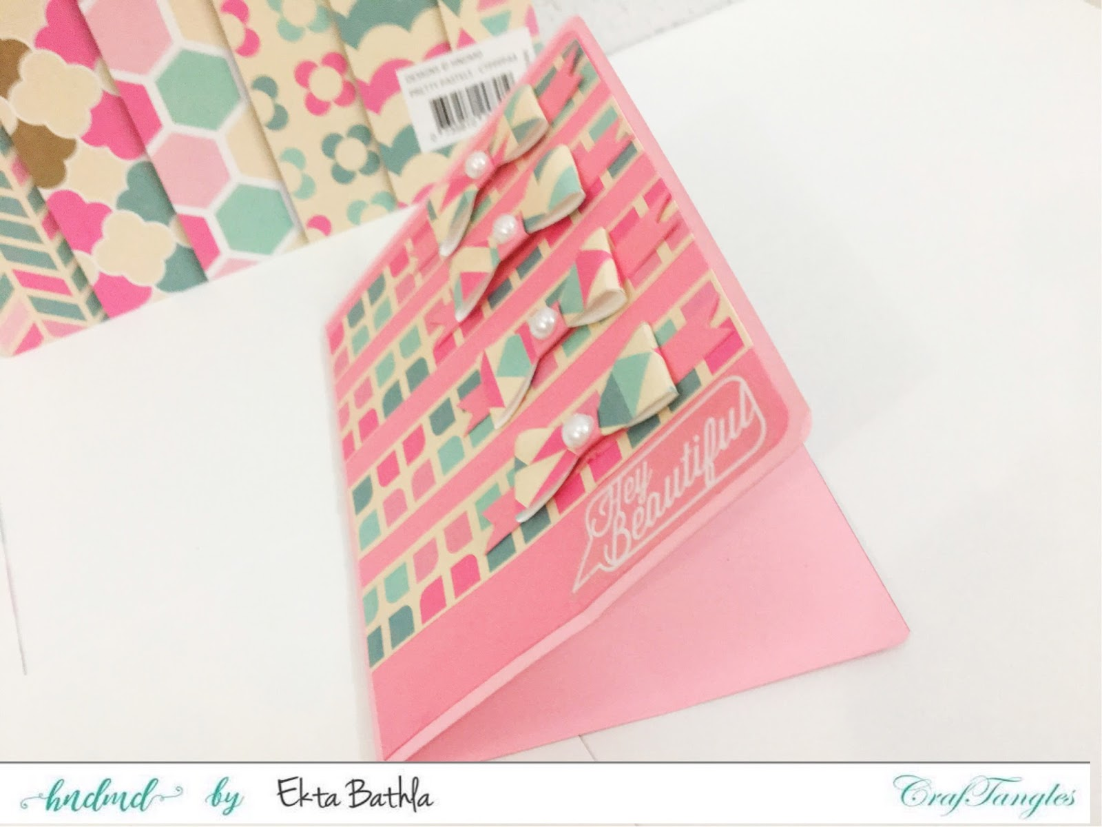 Few cards using Pretty Pastel Paper 7