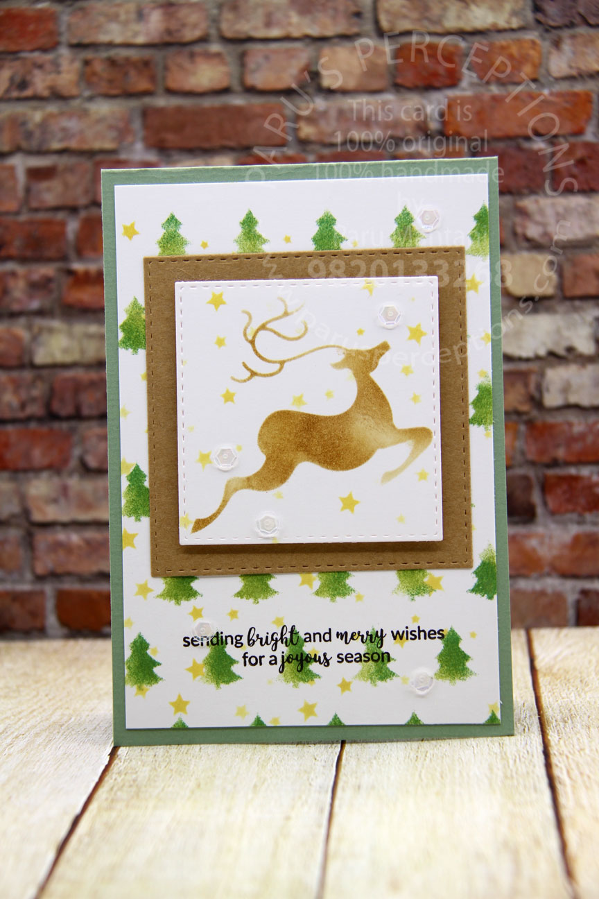 Christmas cards and tags using the November/December release stencils. 1