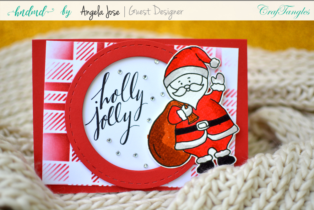 Cards using CrafTangles Christmas Release by Angela Jose 11