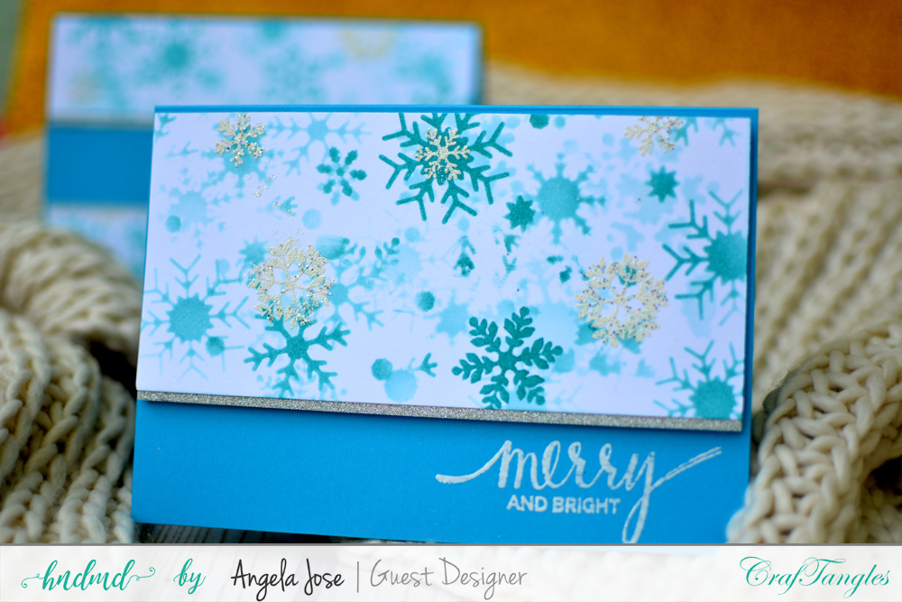 Cards using CrafTangles Christmas Release by Angela Jose 7