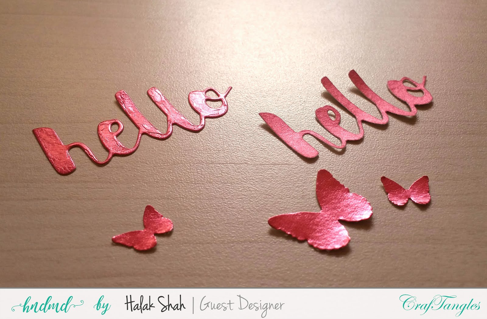 Different ways to create cards using CrafTangles Products 9