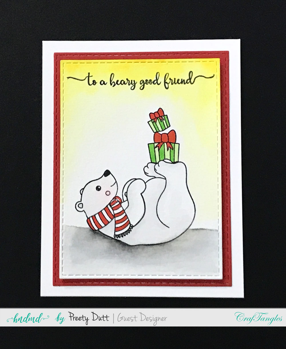 Christmas cards and ATCs by Preety Dutt 2