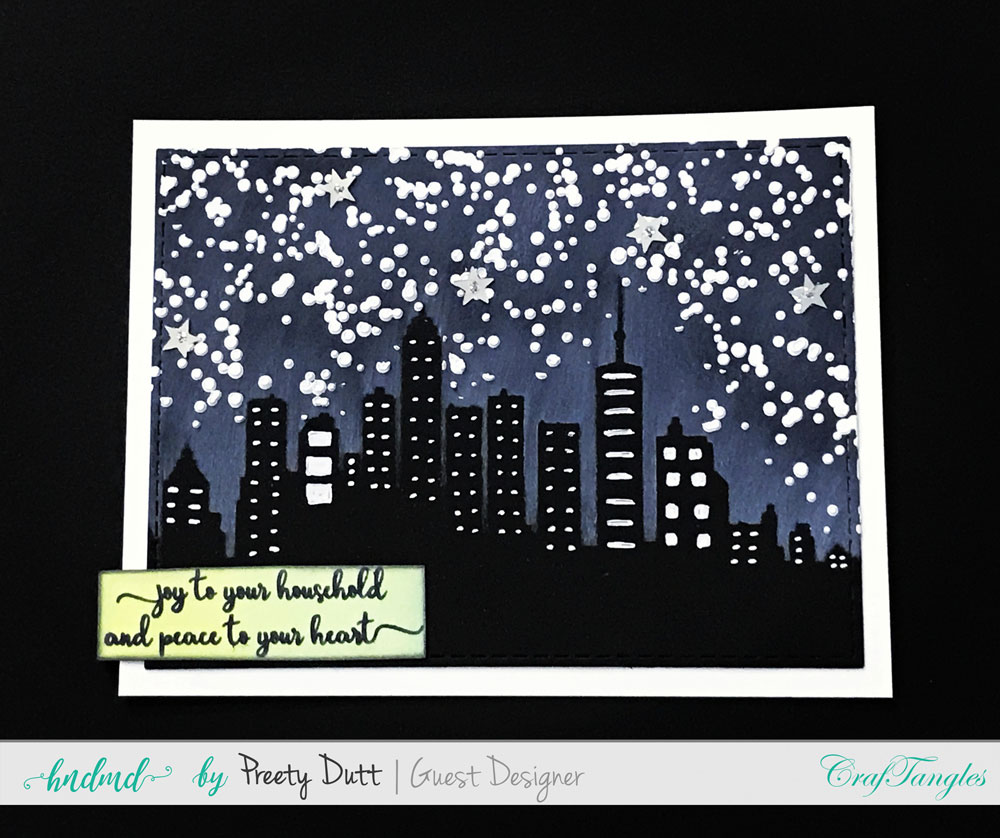 Christmas cards and ATCs by Preety Dutt 3